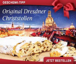 Feinster Dresdner Christstollen