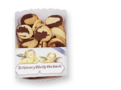 200g Schwarz-Weiß-Gebäck -200g black and white cookies