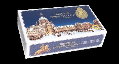 1000g Dresdner Christstollen blauer Karton