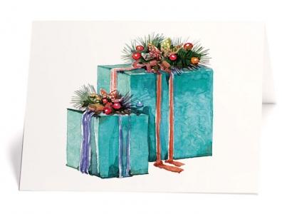 Karte Geschenk
