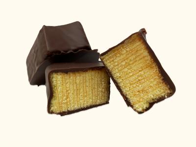 200g Baumkuchenspitzen Zartbitterschokolade