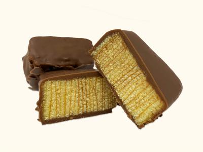 200g Baumkuchenspitzen Vollmilchschokolade