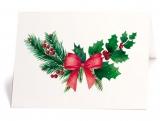 Karte Weihnachtszweig