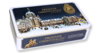 1000g Dresdner Christstollen Schmuckdose -German Christmas Cake