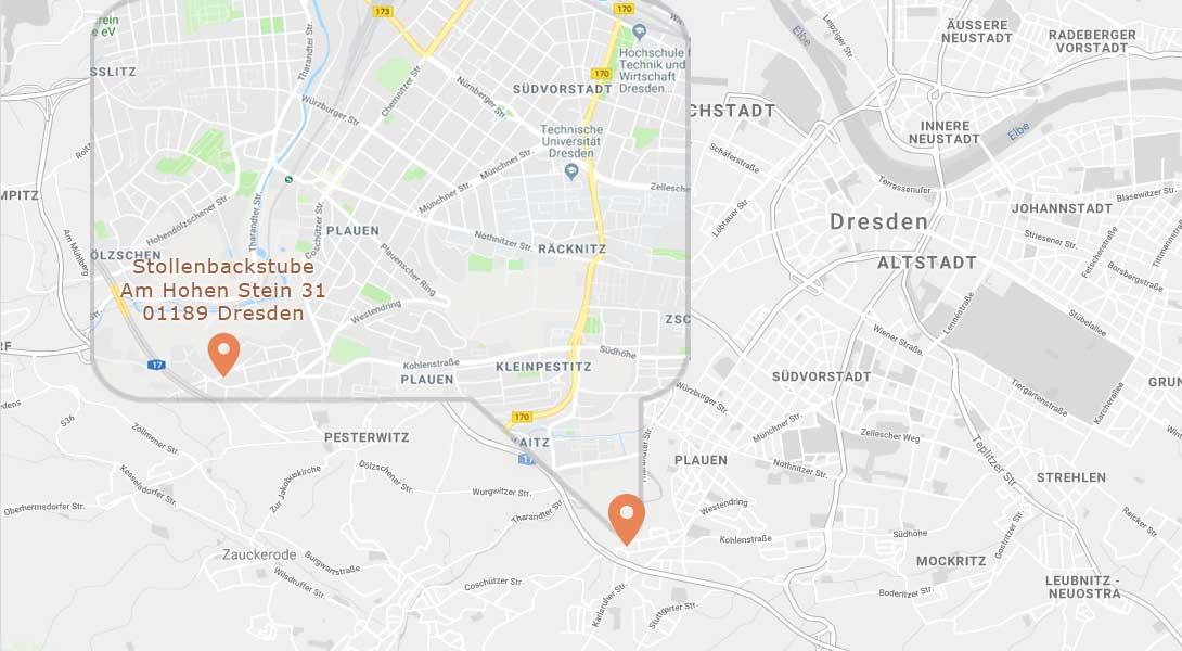 Dresdner Stollen aus dem Stollenofen